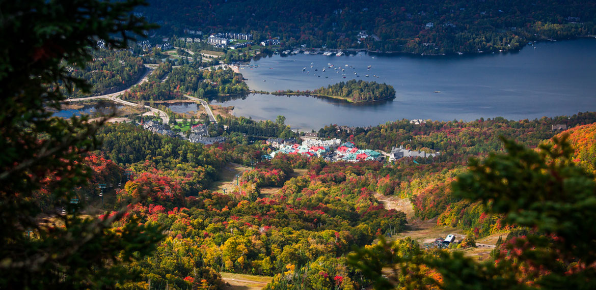Cruises on lake mont tremblant for Lac miroir mont tremblant